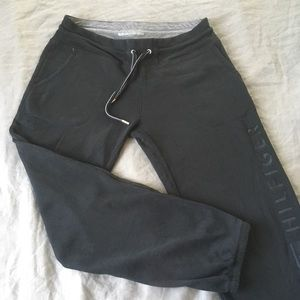 Tommy Hilfiger Logo Jogger Sweatpants Black